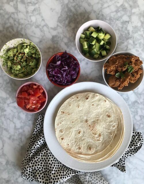 vegansk tacofärs ett antiinflammatoriskt recept