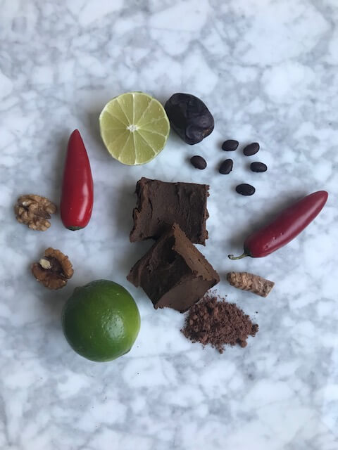 Chokladfudge med svarta bönor