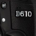 DSLR Full Frame Nikon D610