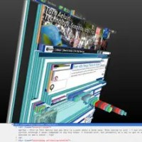 firefox 15 - css layers 3d View