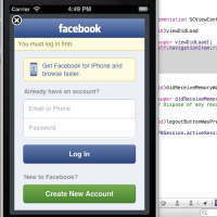 Working with Facebook iOS SDK