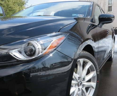 Mazda3 Exterior Headlight and Contour