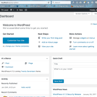 Get WordPress 4.7.x Working on Mac OS