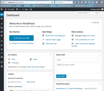 WordPress 4.7.x