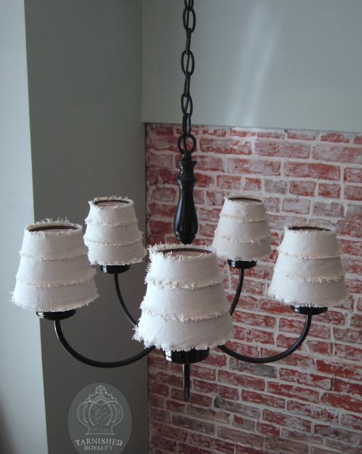 Chandelier Lamp Shade Tutorial 1