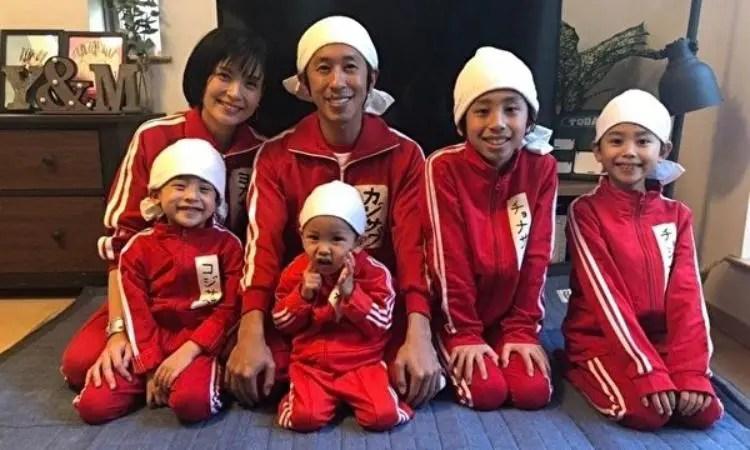 キングコング梶原雄太の現在は園田未来子と子供5人でYouTube活動