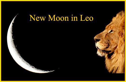 New Moon In Leo The Mighty Knows How To Create Tarot Astrology