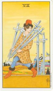 Seven of Swords Universal Waite