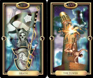 Death + Tower = ? - Tarot Study