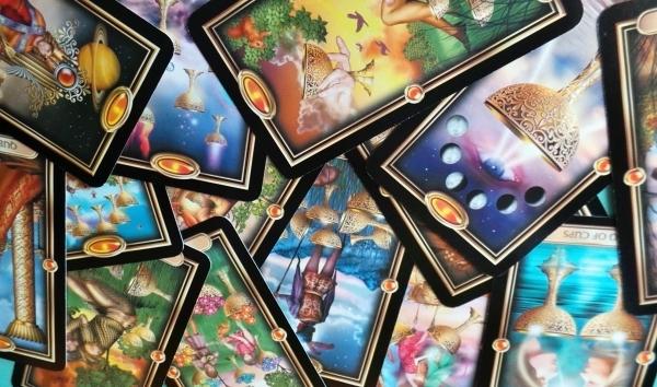 Gilded Tarot Cups Reversals