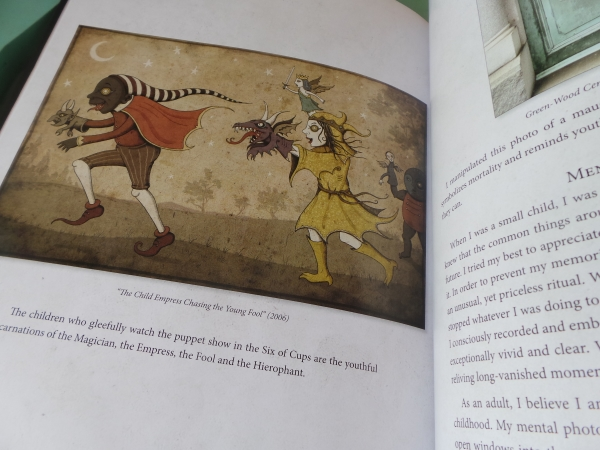Deviant Moon Tarot Book child empress
