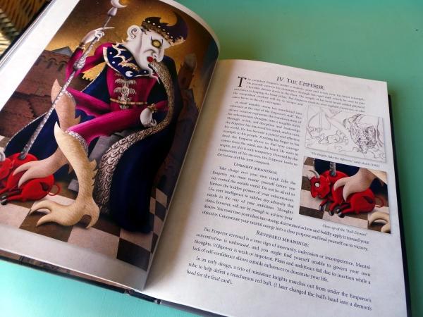 Deviant Moon Tarot Book emperor
