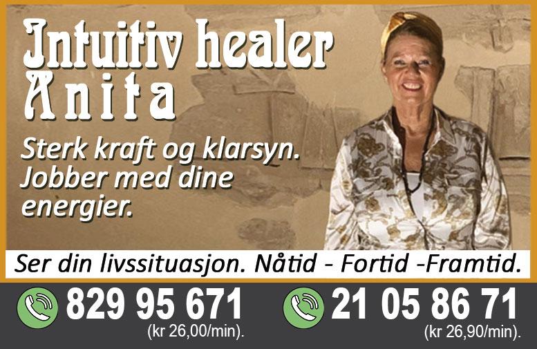 Intuitiv healer Anita