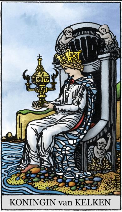 Koningin van Pentakels en Koningin van Bekers