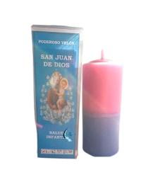 Velón preparado San Juan de Dios