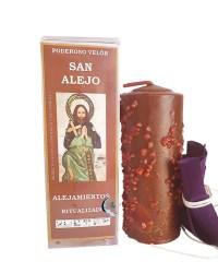 Velón preparado San Alejo