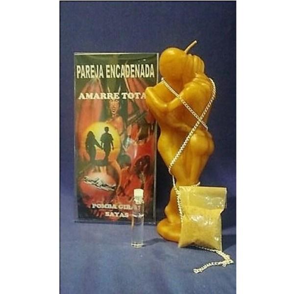 Ritual pareja encadenada miel