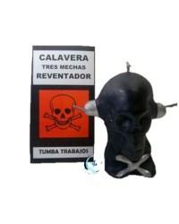 Ritual Calavera 3 mechas negra