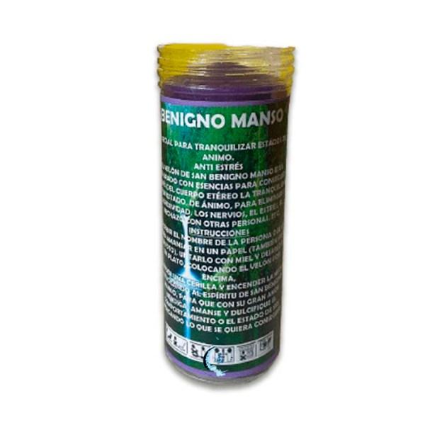 velón Benigno Manso con aceite