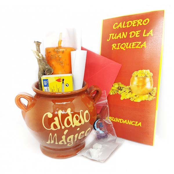 Ritual caldero mágico Juan de la Riqueza
