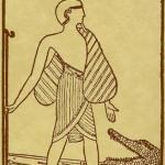 0 – XXII The Crocodile The Egyptian Tarot