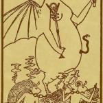 15 XV – Typhon The Egyptian Tarot