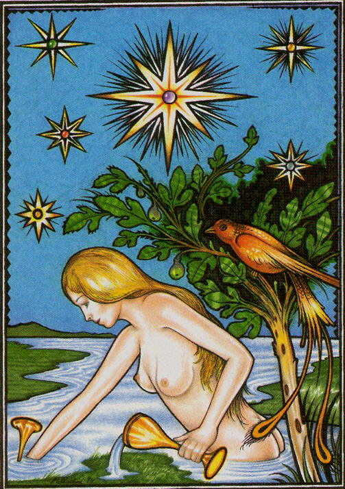 17 The Star The New Palladini Tarot deck | The Unified Esoteric Tarot