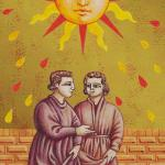 The Giotto Tarot deck by Guido Zibordi Marches