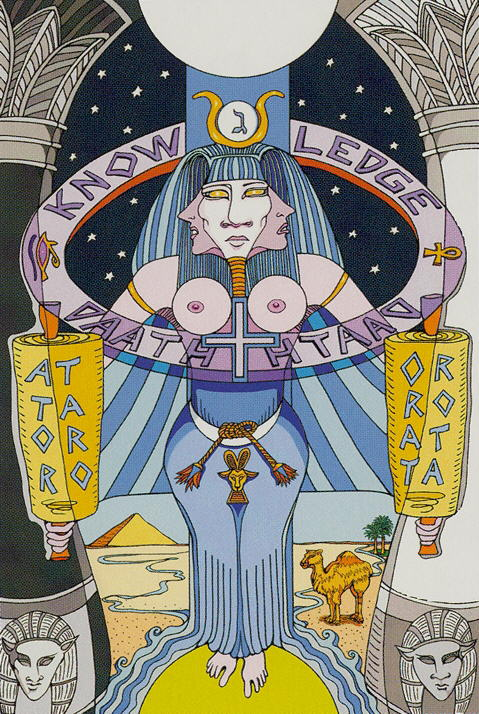 2 The High Priestess Tarot of the Sephiroth, Dan Staroff