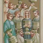 44 9 of Cups The Giotto Tarot deck by Guido Zibordi Marchesi