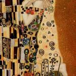 6 The Lovers The Golden Tarot of Klimt by Atanas Alexander Atanssov