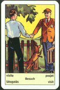 Art Deco fortune telling cards