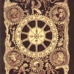 Book of Azathoth Tarot deck