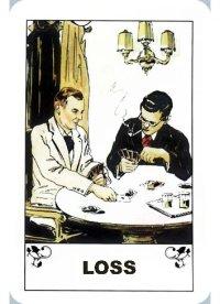 Gypsy fortune telling cards