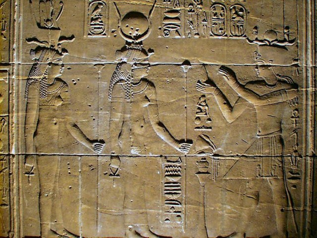 Hathor from Temple of Isis, Philae, Egypt.