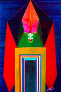 Michaël Bellon's Tarot 14 Temperance