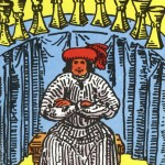 Tarot Rider-Waite 76 9 of Cups