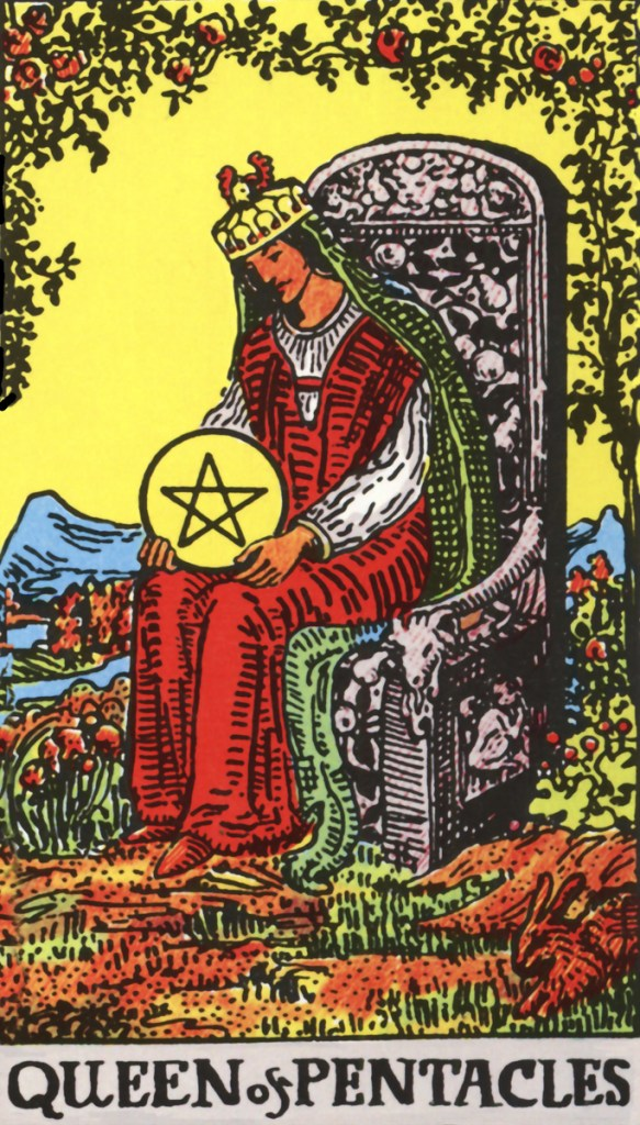 Image result for tarot rider waite pentacles