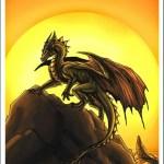 Dragon Tarot by Alecan 19 The Sun