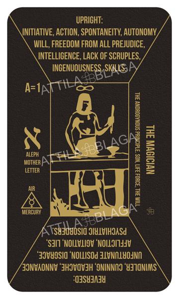 Traditional Divinatory Tarot, The Magician