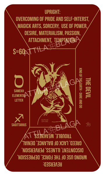 Traditional Divinatory Tarot, The Devil