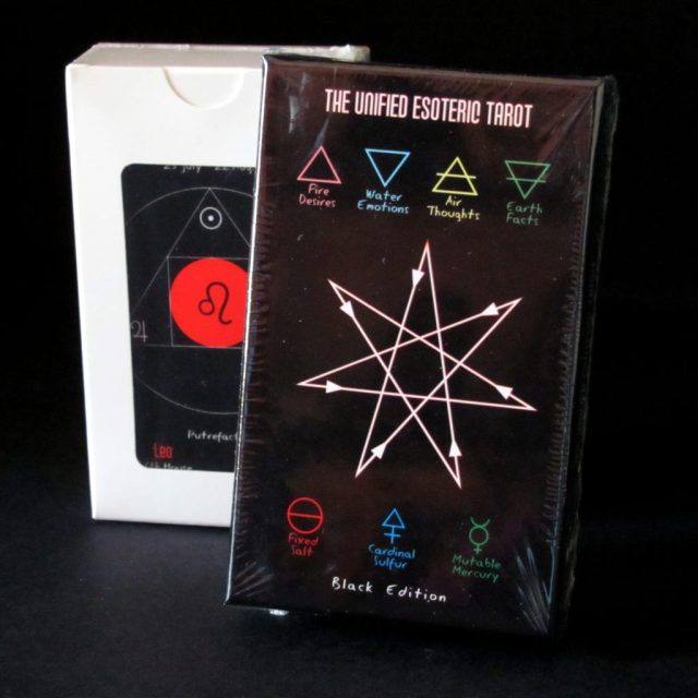 Unified Esoteric Tarot Black Edition