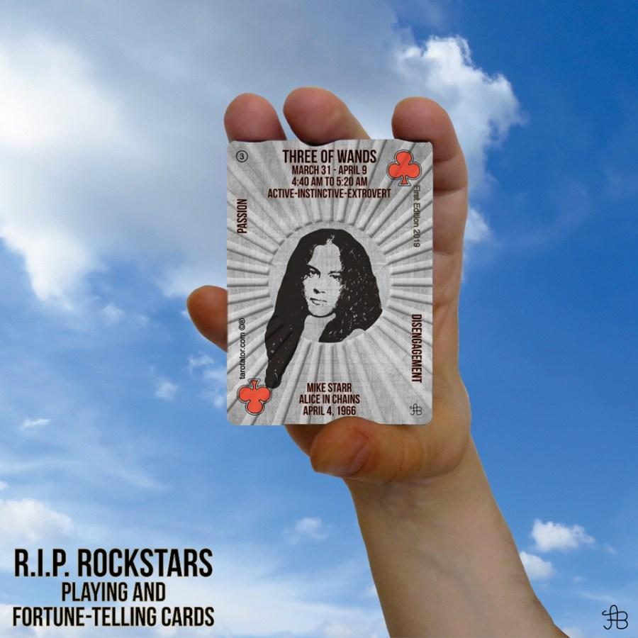 RIP Rockstars Three of Wands Mike Starr
