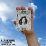 RIP Rockstars Five of Disks – Steve Clark.