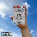RIP Rockstars Page of Cups Kurt Cobain