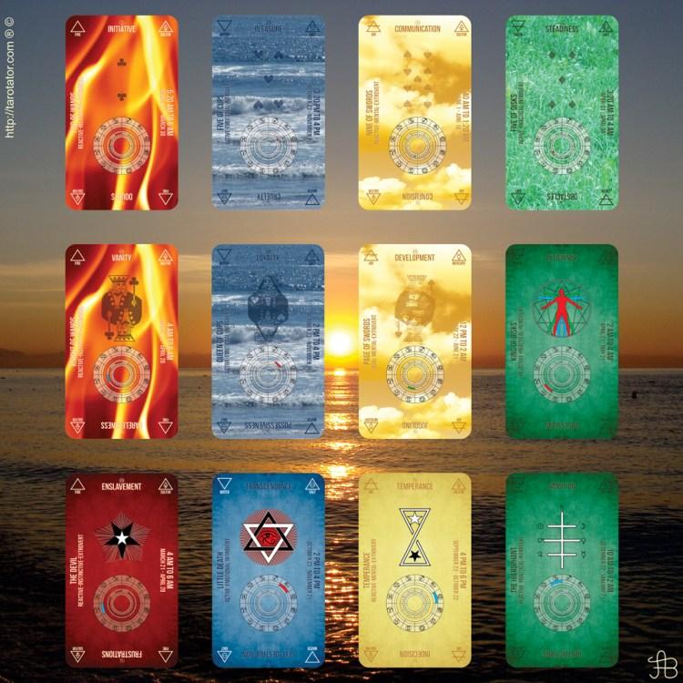 Aquarian Hermetic Tarot