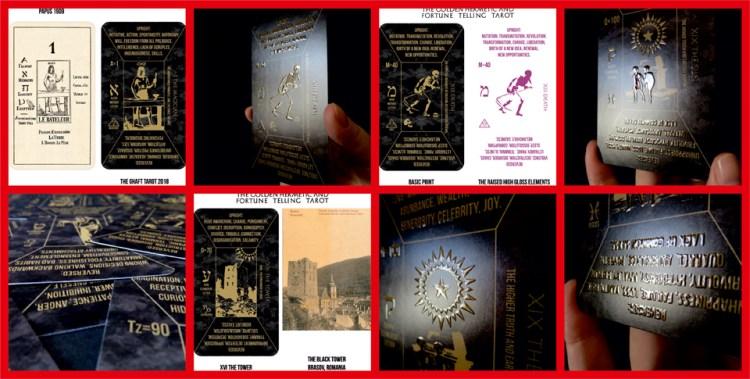 Golden Hermetic Tarot deck