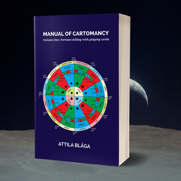 Manual of Cartomancy (book cover)