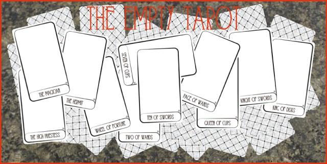 The Empty Tarot