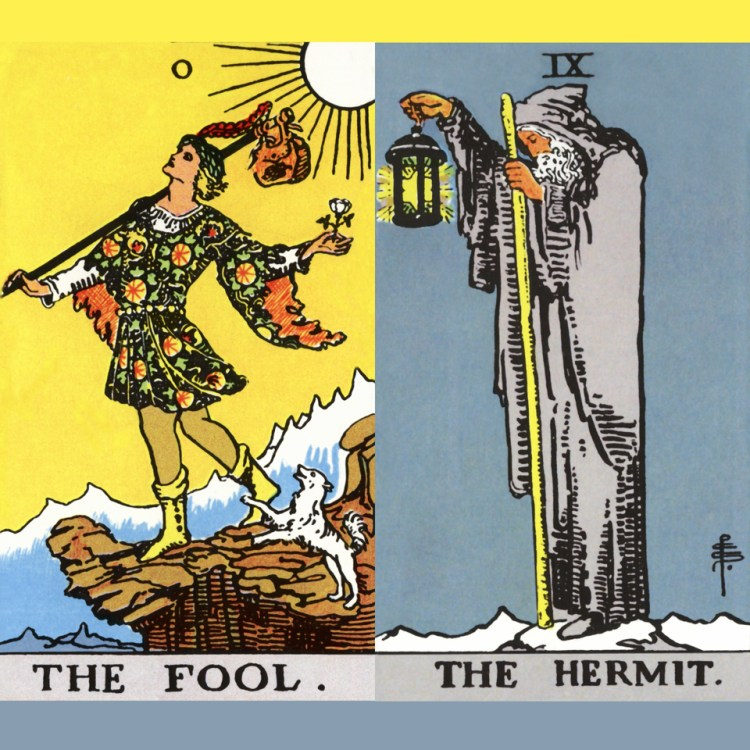 RWS The Fool and the Hermit